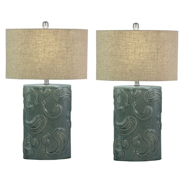 Broderick 28 Table Lamp (Set of 2) by Red Barrel Studio