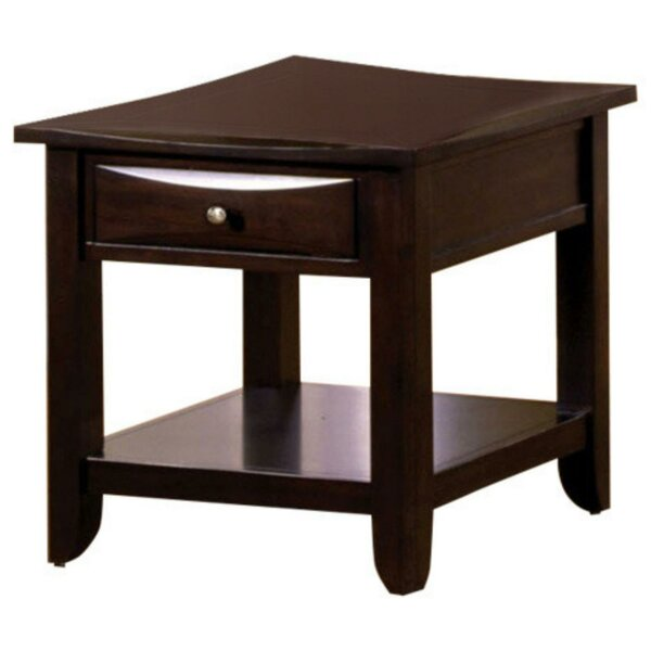 Strano End Table With Storage By Red Barrel Studio