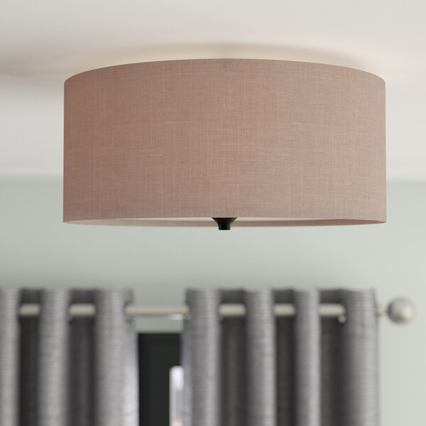 Onasander 2-Light Flush Mount by Mercury Row
