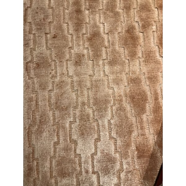 Modern Hand-Knotted Wool Brown Area Rug by Pasargad NY