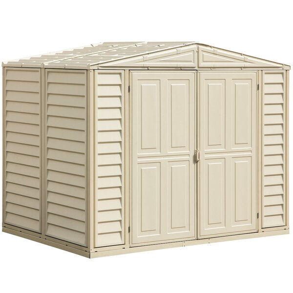 DuraMate 8 Ft. W X 6 Ft. D Plastic Storage Shed By Duramax Building Products