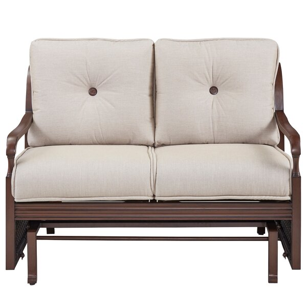 Bade Loveseat with Cushions by Canora Grey Canora Grey