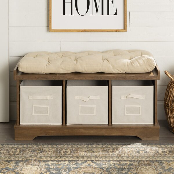 Ryley Cabinet Storage Bench By Foundry Select