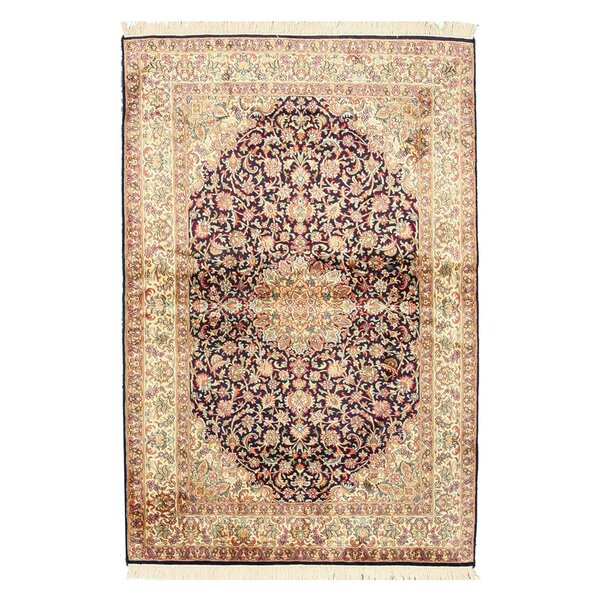 Pachore Hand-Knotted Brown/Beige Area Rug by Meridian Rugmakers
