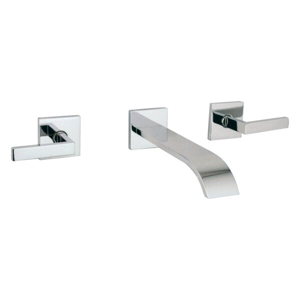 Wave Wall Mounted Bathroom Faucet With Drain Assembly By Rohl