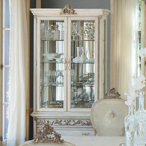 Platine De Royale Curio Cabinet by Michael Amini