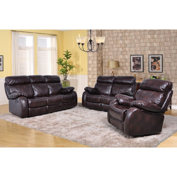 Torbett Reclining 3 Piece Living Room Set by Red Barrel Studio