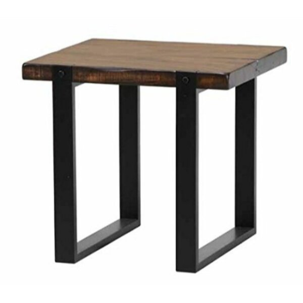 Kalel Minimalist End Table by 17 Stories