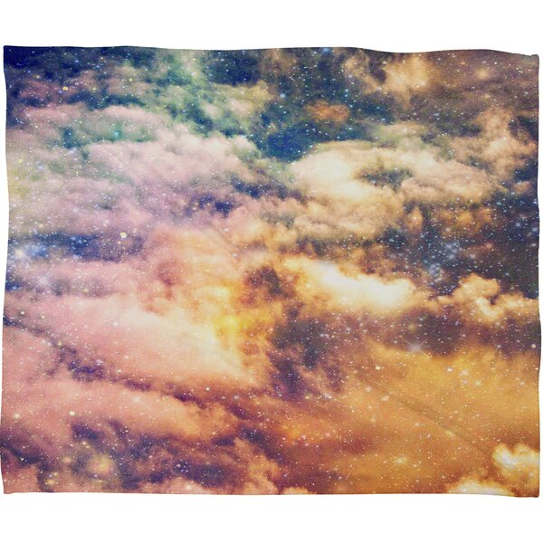 Shannon Clark Cosmic Throw Blanket by Deny Designs