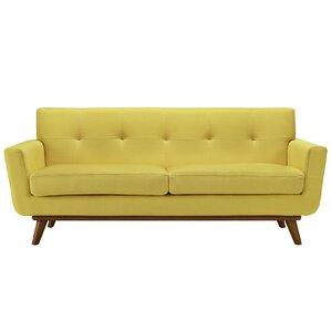 Langley Street Johnston Tufted Upholstered Sofa