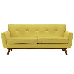 Coupon Langley Street Johnston Tufted Upholstered Sofa