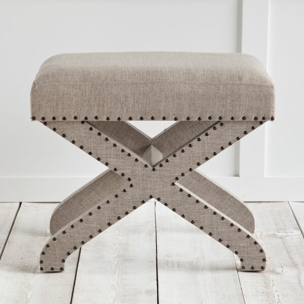 Selsey Ottoman by House of Hampton House of Hampton