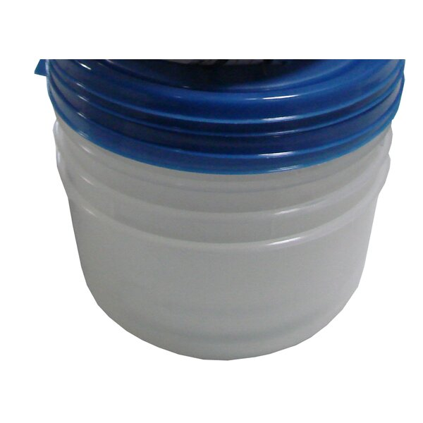 Round 4 Container Food Storage Set by American Maid Plastic