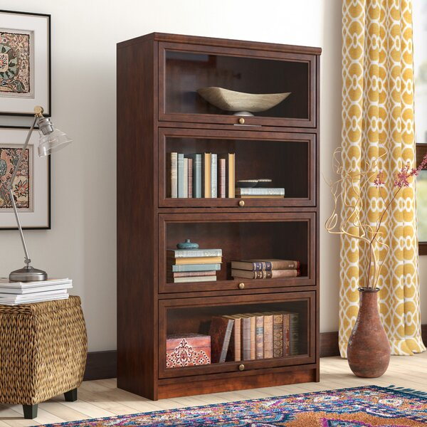 Didier Barrister Bookcase By World Menagerie