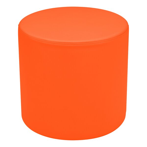 Kids Vinyl Round Stool Soft Seating by Learniture