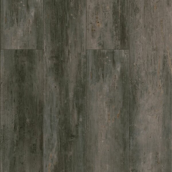 Luxe Rigid Core Concrete 6 x 48 x 7.88mm WPC Luxury Vinyl Plank in Gotham City by Armstrong Flooring