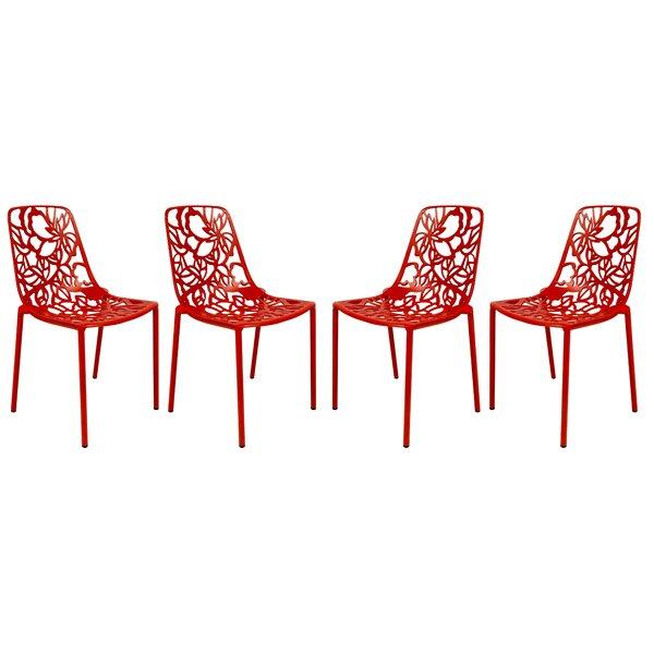 Devon Patio Dining Chair (Set of 4) by LeisureMod