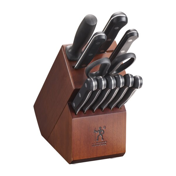 Solution 12 Piece Knife Block Set by J.A. Henckels International