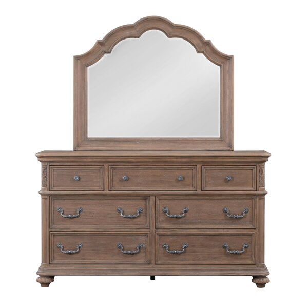 Benji 5 Drawer Double Dresser by One Allium Way