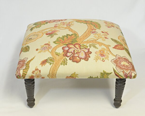 Maxine Asia Flora Accent Stool by Corona Decor