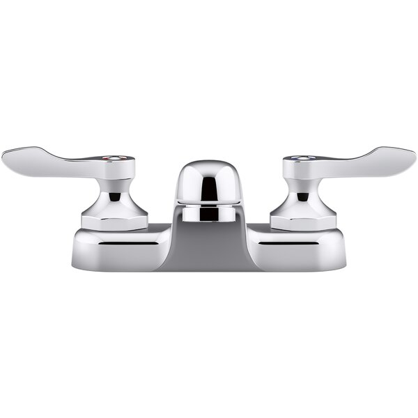 Triton Bowe 0.5 GPM Centerset Bathroom Sink Faucet with Aerated Flow and Lever Handles Drain Not Included by Kohler Kohler
