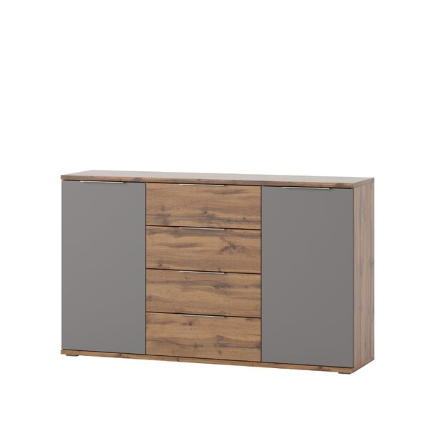Deville 4 Drawer Combo Dresser by Orren Ellis