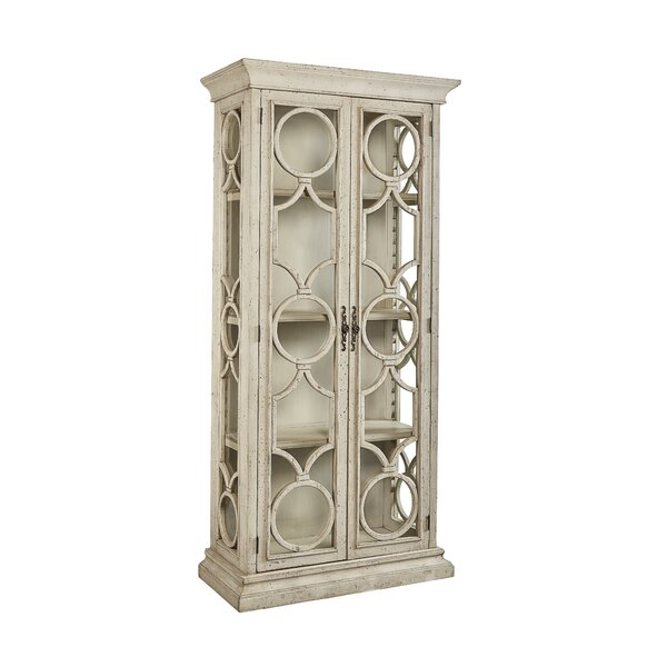 Aryanna Single Curio Cabinet by One Allium Way