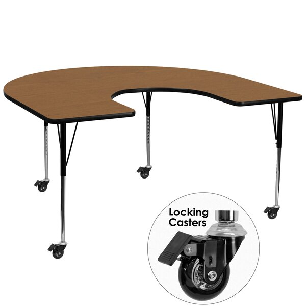 66 x 60 Horseshoe Activity Table by Flash Furniture