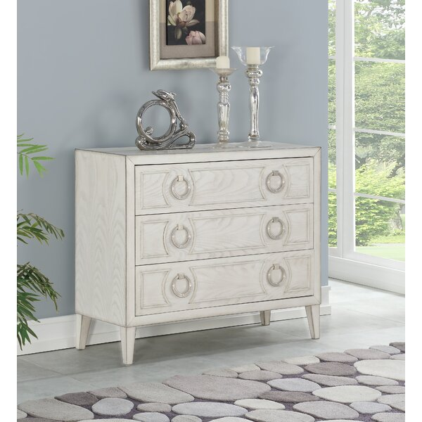 Furtado 3 Drawer Chest by Highland Dunes