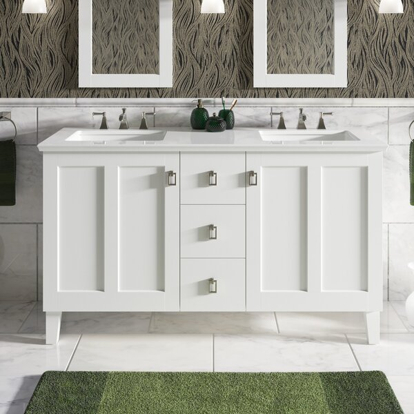 Poplin™ 62 Double Bathroom Vanity Set by Kohler