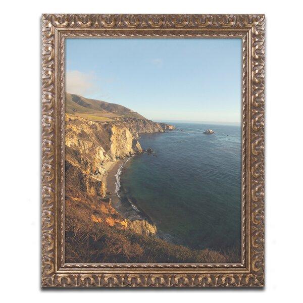 Big Sur Vista by Ariane Moshayedi Framed Photographic Print by Trademark Fine Art