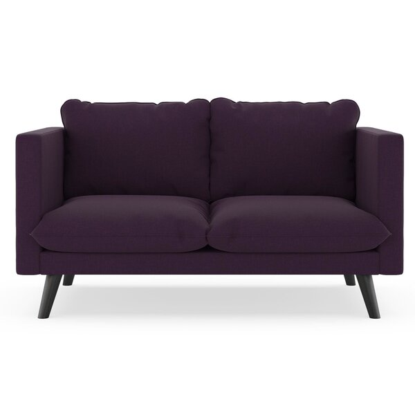 Cramer Cross Weave Loveseat By Corrigan Studio Wonderful