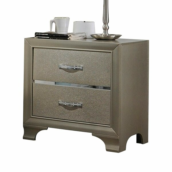 Providence 2 Drawer Nightstand by Everly Quinn