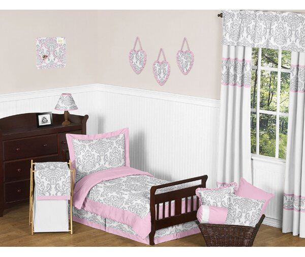 Elizabeth 5 Piece Toddler Bedding Set by Sweet Jojo Designs