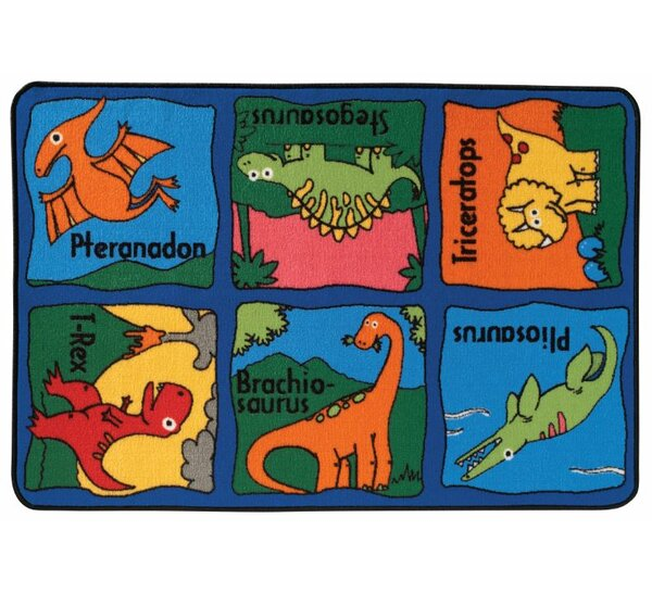 Dino-Mite Kids Rug by Kids Value Rugs