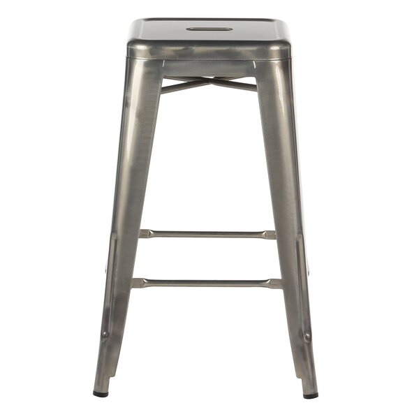 Jayci 26 Bar Stool (Set of 4) by 17 Stories
