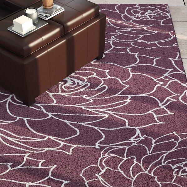 Velasquez Purple Indoor/Outdoor Area Rug by Latitude Run