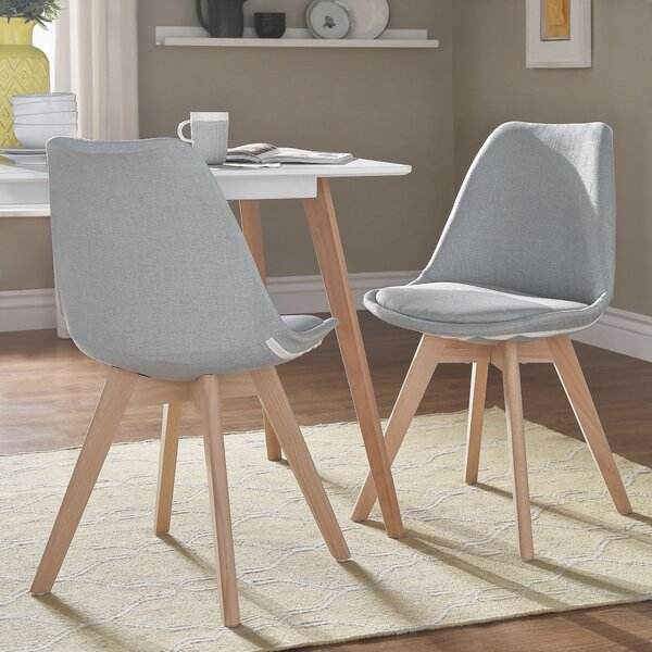 Clarkson Upholstered Dining Chair (Set of 2) by George Oliver