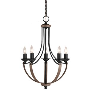 Compare Kenna 5-Light Empire Chandelier By Laurel Foundry Modern Farmhouse