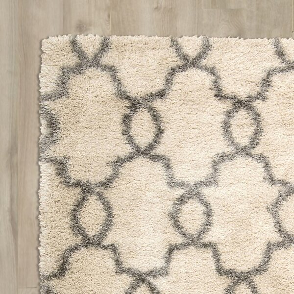 Torvehallerne White Shades Area Rug by Bungalow Rose