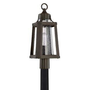 Affordable Nitish Palladian Bronze 1-Light Post Lantern By Gracie Oaks