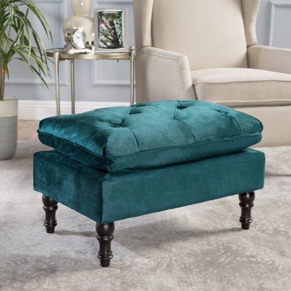Karlyn Tufted Ottoman by House of Hampton