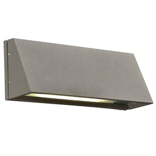 Compare prices Leyburn 1-Light Outdoor Flush Mount By Ebern Designs