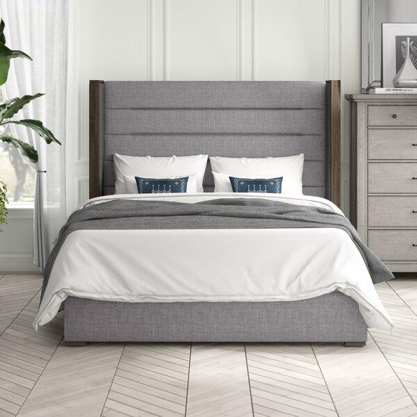 O'brien Upholstered High Standard Bed by Brayden Studio