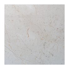 Crema Nova 6 x 6 Marble Field Tile in Beige by Seven Seas