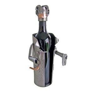 Dentist 1 Bottle Tabletop Wine Rack by H & K SCULPTURES