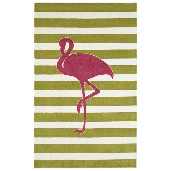 Brynn Fancy Flamingo Area Rug by Viv + Rae