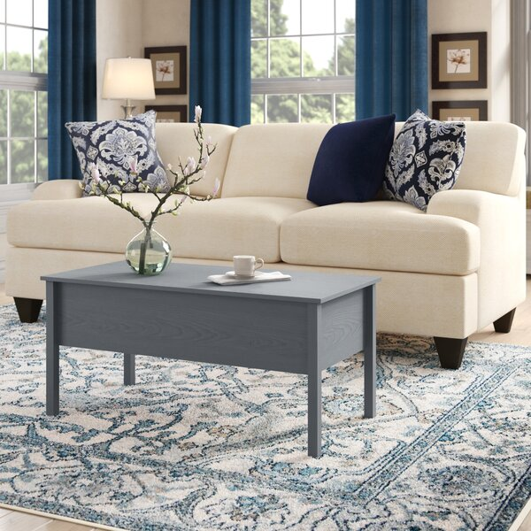 Siena Modern Lift Top Coffee Table with Storage by Andover Mills