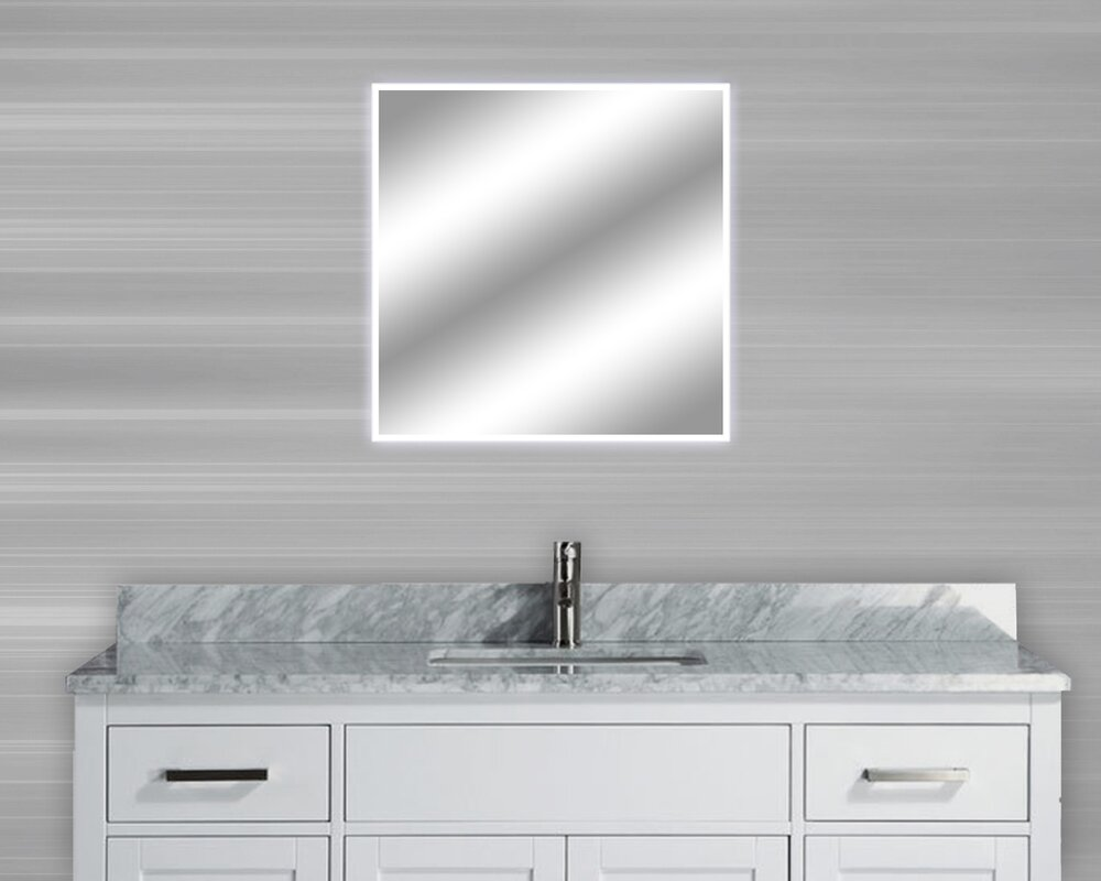 dimmable lighted mirror harmony 32 x 32