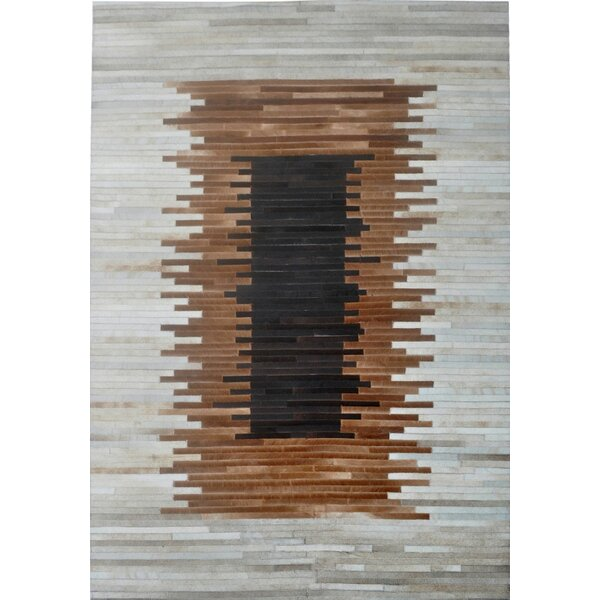 Brown/Beige Area Rug by Modern Rugs